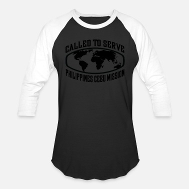Cebu Philippines Cebu Mission - LDS Mission CTSW - Baseball T-Shirt