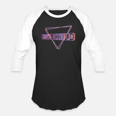 Agel 80's Child - Unisex Baseball T-Shirt