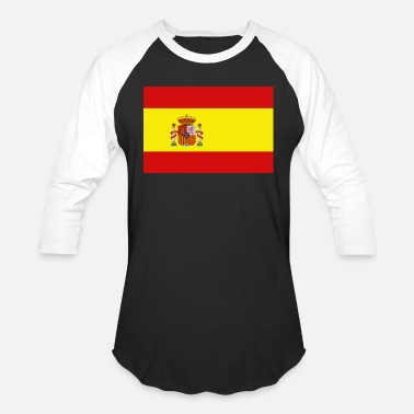 Spain Spain Flag - Unisex Baseball T-Shirt