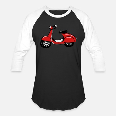 Scooter Scooter riding Scooter - Unisex Baseball T-Shirt