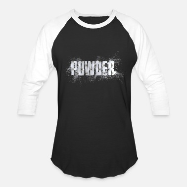 Substance Designer Powder Silver Colorsplash Design - Baseball T-Shirt