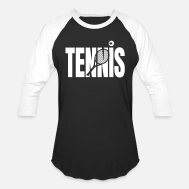 Us time for tennis1 - Baseball T-Shirt