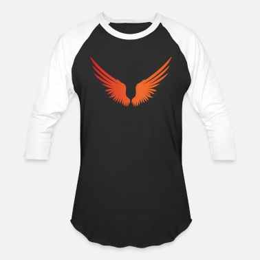 Angel's Wings WINGS - Unisex Baseball T-Shirt