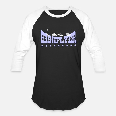 i am a high flyer - Unisex Baseball T-Shirt