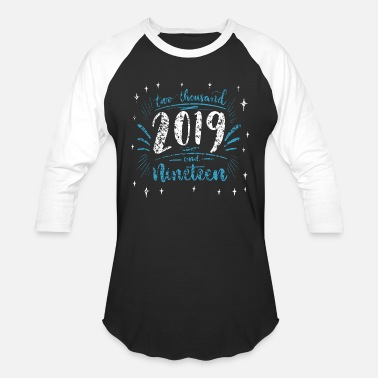 New Years Eve New Year's Eve 2019 Party Champagne - Unisex Baseball T-Shirt