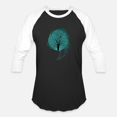 Tree Tree Design - Unisex Baseball T-Shirt