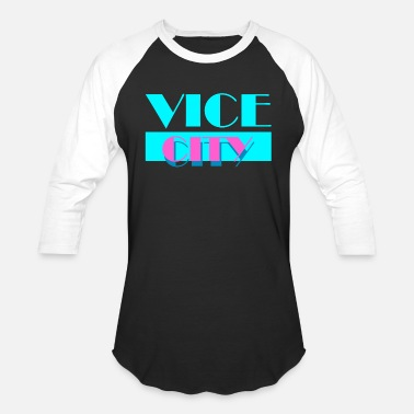 Vice City - Unisex Baseball T-Shirt