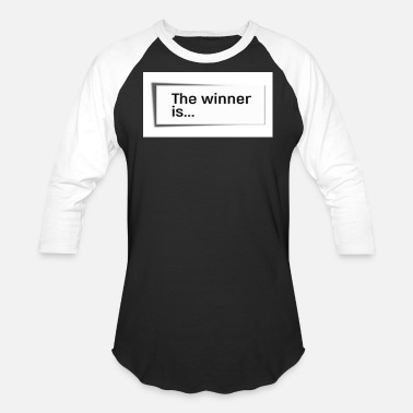 Winner THE WINNER IS... - Baseball T-Shirt