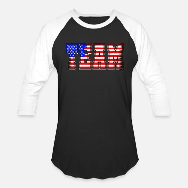 Team Usa Team USA - Unisex Baseball T-Shirt