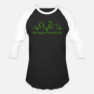 Nature Conservation Pray for amazon 5.0 - Unisex Baseball T-Shirt