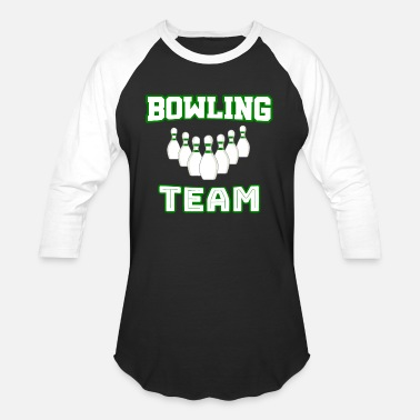 Bowling-team Bowling Team - Unisex Baseball T-Shirt