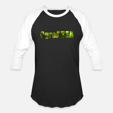 Ogre ogre area - Baseball T-Shirt