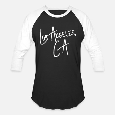 Angeles Los angeles - los angeles california usa america - Unisex Baseball T-Shirt