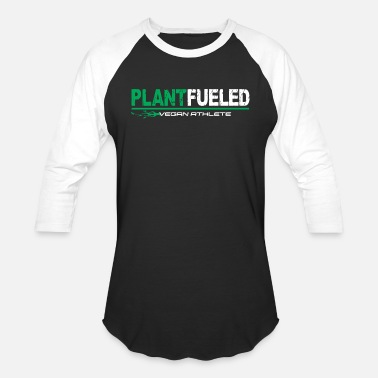 Diet Vegan Athlete Plant Based - Unisex Baseball T-Shirt
