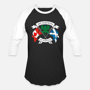 Canadian Club Canadian Scottish - Unisex Baseball T-Shirt