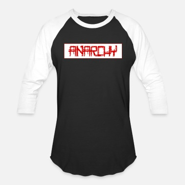 Anarchy 3 - Unisex Baseball T-Shirt