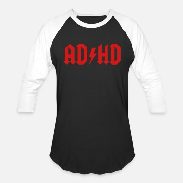 Hd AD HD - Unisex Baseball T-Shirt