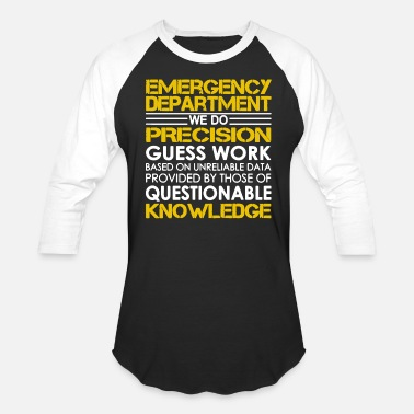 Emergency Department Emergency Department Shirts - Baseball T-Shirt