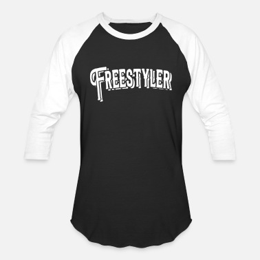 Freestyle freestyler - Baseball T-Shirt