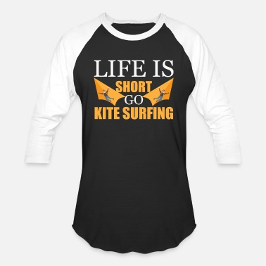 Kite Boarding Dragon Stunt Funny Kite idea Gift Kite - Baseball T-Shirt