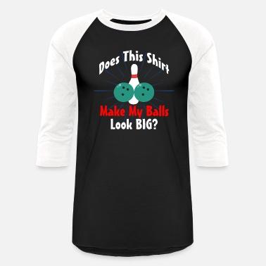 dd001fc5dd Bowling Cool Gift bowling Funny Square Pins - Unisex Baseball T-Shirt