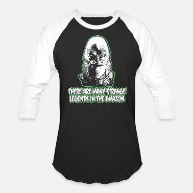 Creature From The Black Lagoon Black lagoon - Creature from the Black Lagoon - Baseball T-Shirt