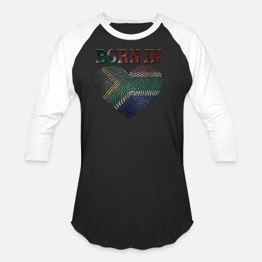 Africa South Africa - Unisex Baseball T-Shirt