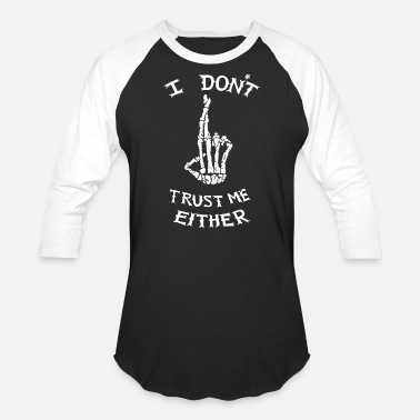 Luke Hemmings i don't trust me either Luke Hemmings - Baseball T-Shirt