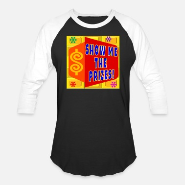 Right TV Game Show Apparel - TPIR (The Price Is...) - Baseball T-Shirt