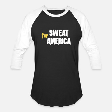 Sweat Graffiti Sweat for America - Baseball T-Shirt