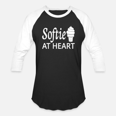 Softies Softie At Heart - Baseball T-Shirt