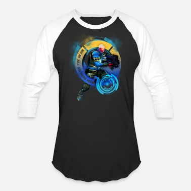 Overwatch 76 Overwatch: Soldier 76 - Baseball T-Shirt