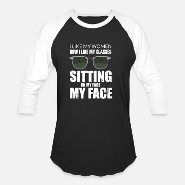 Sex Sayings Oral Sex Face Sitting Oral Sex dirty naughty saying gift - Baseball T-Shirt
