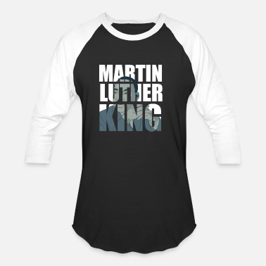 African-american Civil Rights Leaders Martin luther king - Baseball T-Shirt