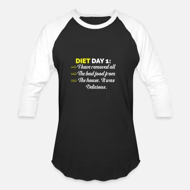 Restaurant Bad Food Dietitian And Health Conscious Gift - Unisex Baseball T-Shirt