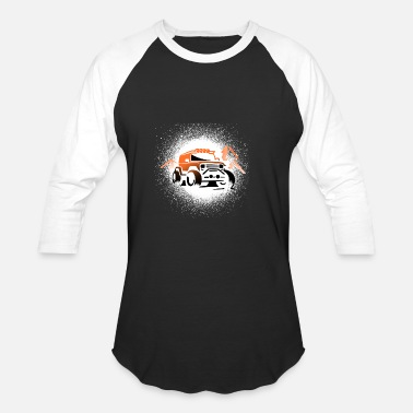 Offroad Vehicles Offroad Mountains - Unisex Baseball T-Shirt