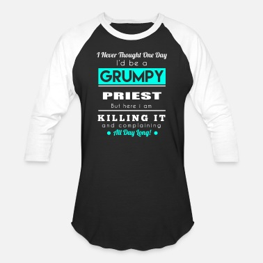 Priest PRIEST - GRUMPY - Baseball T-Shirt
