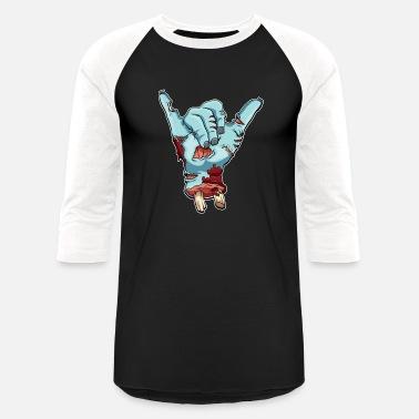 f2a7d76f0f Hang Loose Surfer Shaka Sign - Halloween Hang Loose Bro Funny - Unisex  Baseball T-. Unisex Baseball T-Shirt