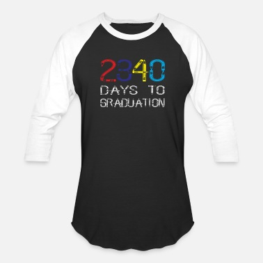 Graduation Day Kindergarten days to graduation - Baseball T-Shirt