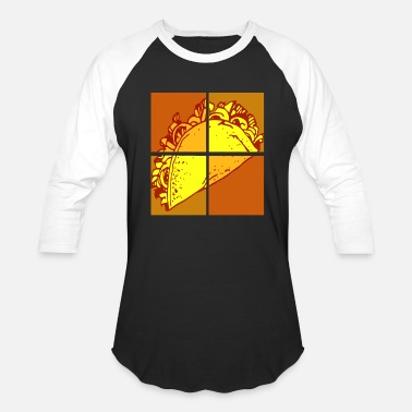 Pop Art Pop Art Taco - Baseball T-Shirt