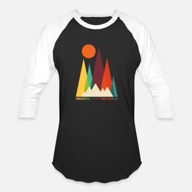 Mountains And Sun Mountain Sun - Baseball T-Shirt