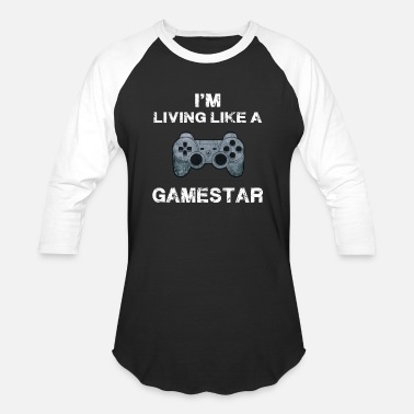 Funny Video funny video games shirt - Baseball T-Shirt