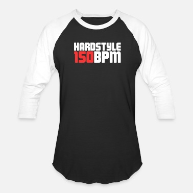 Electronic Music Hardstyle Electronic Music Gift For EDM Raver - Baseball T-Shirt