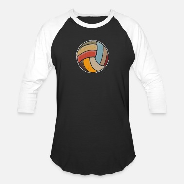 Volleyball Setter Libero Vintage Retro Volleyball TShirt Player Team Costume Outfit - Baseball T-Shirt