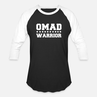Fasting Fasting Diet Gift OMAD Warrior - Baseball T-Shirt