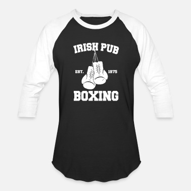 Irish Pub Boxing Irish Pub - Boxing - Unisex Baseball T-Shirt