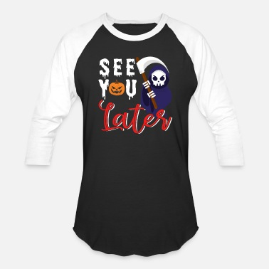 See You Later Alligator See You Later Halloween - Unisex Baseball T-Shirt