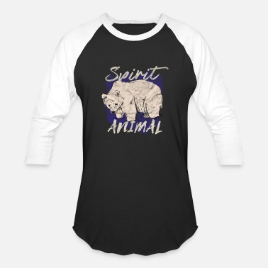 Spirit Animal Bear Animal Spirit Bear Gift - Baseball T-Shirt