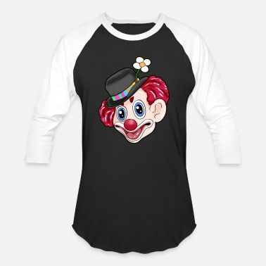Carneval happy carneval clown - Unisex Baseball T-Shirt
