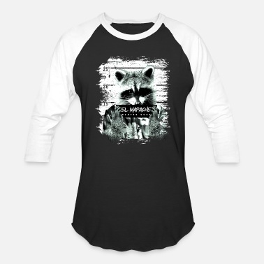 A Raccoon Dog Raccoon El mapache gift - Baseball T-Shirt